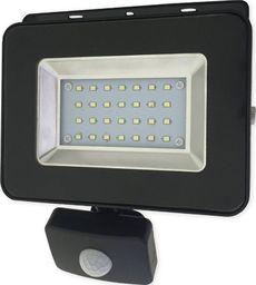 Naświetlacz Bemko BEMKO Naświetlacz wodoodporny IP65 LED 20W 230V z CZUJNIK RUCHU barwa zimna