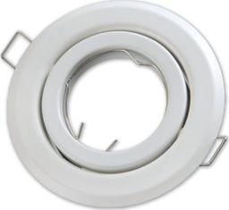 Lumixa Oprawa oprawka halogenowa okrągła ruchoma biała