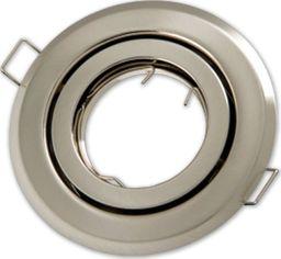 Lumixa Oprawa oprawka halogenowa okrągła ruchoma satyna (matowy chrom)