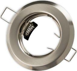Lumixa Oprawa oprawka halogenowa okrągła stała satyna (matowy chrom)