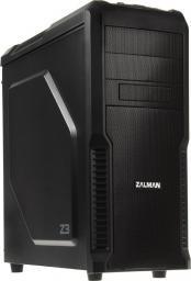 Obudowa Zalman Z3 - USB 3.0 - czarna - wyciszona (GECK-263)