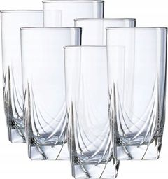 Arcoroc Zestaw Szklanek do Drinków Wysokie 330ml Curtain 6szt.