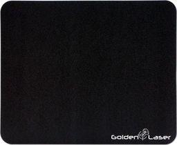 Podkładka Logo Podkładka pod mysz, ultra-cienki, antypoślizgowe, czarna, 22x18 cm, Logo
