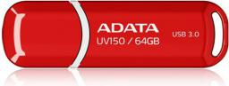Pendrive ADATA DashDrive Value UV150 64GB USB 3.0 Czerwony (AUV150-64G-RRD)