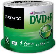 Sony DVD+R SONY 4.7GB 16X CAKE 50 SZT (50DPR47SP)