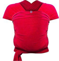 Izmi Chusta do noszenia dziecka 0m+ bambusowa - czerwona