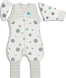 Love to dream Piżama przejściowa Transition Suit-rozmiar L-biała-ETAP 2-0.2 TOG Lite