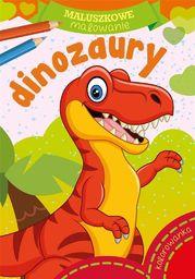Maluszkowe malowanie. Dinozaury