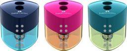 Faber-Castell Temperówka podwójna Auto Grip mix kol.