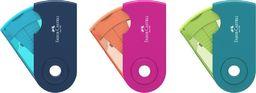 Faber-Castell Temperówka podwójna Sleeve mix kol, FABER CASTELL