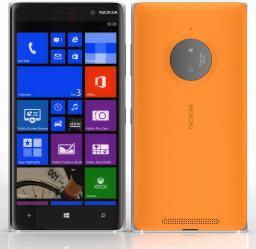 Smartfon Nokia Lumia 830 16 GB Pomarańczowy  (Lumia 830 Orange)