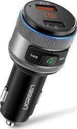 Transmiter FM Ugreen Bluetooth Ładowarka QC3.0 USB (60283)