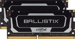 Pamięć do laptopa Crucial Ballistix DDR4 SODIMM 16GB 3200MHz CL16 (BL2K8G32C16S4B)