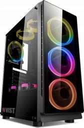 Komputer Vist Ryzen 7 2700, 16 GB, Radeon RX 570, 1 TB HDD Windows 10 Pro