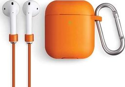 UNIQ UNIQ etui Vencer AirPods 1/2 gen. Silicone pomarańczowy/burnt orange