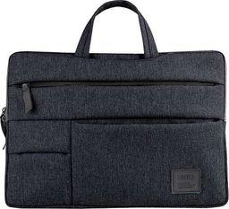 "Torba Uniq UNIQ torba Cavalier laptop Sleeve 15"" czarny/charcoal black"