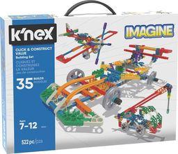 Knex Click & Construct zestaw konstrukcyjny 35 modeli