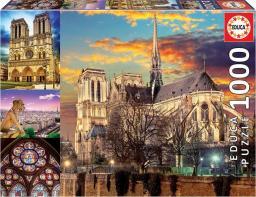 Educa Puzzle 1000 elementów Notre Dame Kolaż