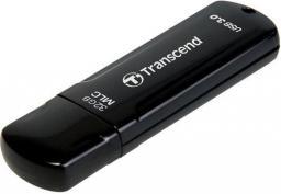 Pendrive Transcend JetFlash750K 32GB USB 3.0 Czarny (TS32GJF750K)