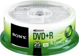 Sony DVD+R SONY 4.7GB 16X CAKE 25 SZT (25DPR47SP)