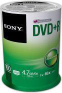 Sony DVD+R SONY 4.7GB 16X CAKE 100 SZT (100DPR47SP)