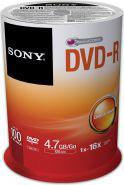 Sony DVD-R SONY 4.7GB 16X CAKE 100 SZT (100DMR47SP)