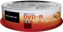 Sony DVD-R SONY 4.7GB 16X CAKE 25 SZT (25DMR47SP)