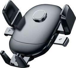 Uchwyt Alogy Uchwyt samochodowy regulowany 360 Alogy na kratkę Czarny uniwersalny