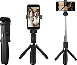 Selfie stick Apexel Apexel APL-D4H Selfie stick L01 Tripod Uchwyt do telefonu Bluetooth uniwersalny
