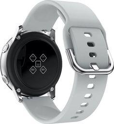 Alogy Gumowy pasek Alogy soft do Samsung Galaxy Watch Active 2 szary uniwersalny