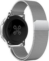 Alogy Bransoleta Milanese pasek Alogy do Samsung Gear S3/ Watch 46mm srebrna uniwersalny