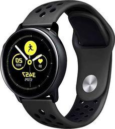 Alogy Sportowy pasek soft band Alogy do Samsung Gear S3/ Watch 46mm Czarny uniwersalny