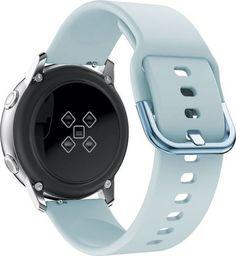 Alogy Gumowy pasek Alogy soft do Samsung Galaxy Watch Active 2 niebieski uniwersalny