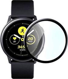 Alogy Elastyczne Szkło 3D Alogy do Samsung Galaxy Watch Active 2 44mm Czarne uniwersalny