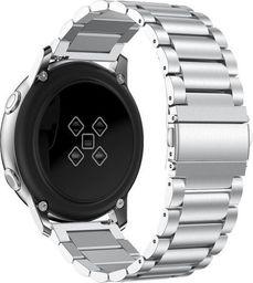 Alogy Bransoletka Alogy Stainless steel do Galaxy Watch Active 2 44mm srebrna uniwersalny