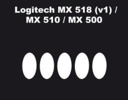 Ślizgacze miceSkatez do Logitech MX500