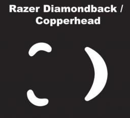 Ślizgacze miceSkatez do Razer Diamondback