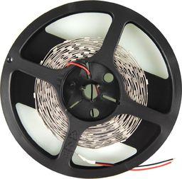 Taśma LED Whitenergy Taśma LED Whitenergy 5m SMD3528 4,8W/m 12V 10mm zimna biała bez konektora Uniwersalny