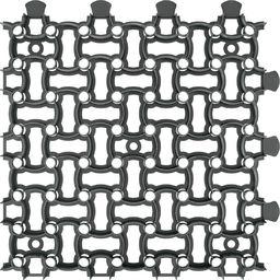 Garden Plast Kratka trawnikowa, parkingowa 50 cm x 50 cm, czarny
