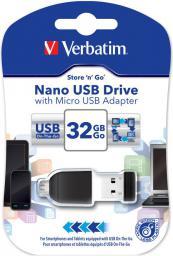 Pendrive Verbatim NANO 32GB (49822)