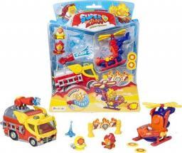 Magic Box Super Zings zestaw misja Fire Strike + 2 figurki