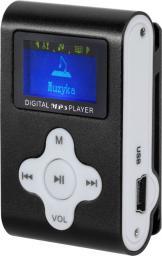 Odtwarzacz MP3 Quer Dyktafon / Radio FM z LCD czarny (KOM0742)