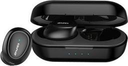 Słuchawki Awei T16 TWS + stacja dokująca black