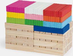 Viga Zestaw klocków kreatywnych drewnianych 250 elementów