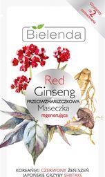 Bielenda Bielenda Red Ginseng Przeciwzmarszczkowa Maseczka regenerująca 8g