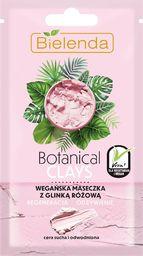 Bielenda Bielenda Botanical Clays Różowa Glinka Wegańska Maseczka na twarz 8g