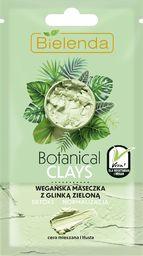 Bielenda Bielenda Botanical Clays Zielona Glinka Wegańska Maseczka na twarz 8g