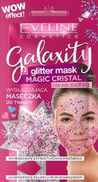 Eveline Eveline Galaxity Glitter Mask Wygładzająca Maseczka do twarzy Magic Cristal   5mlx2