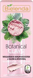 Bielenda Bielenda Botanical Clays Różowa Glinka Wegańskie Serum Booster do twarzy 30ml
