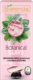 Bielenda Krem do twarzy Botanical Clays Różowa Glinka odżywiający 50ml